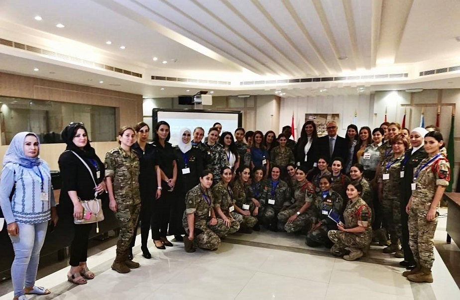 Workshop for female military personnel